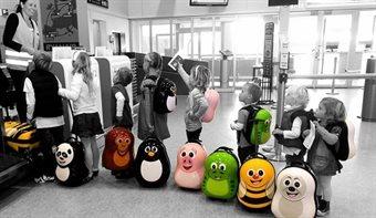 Lasten lentolaukut