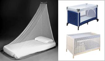 Hyttysverkko sänkyyn