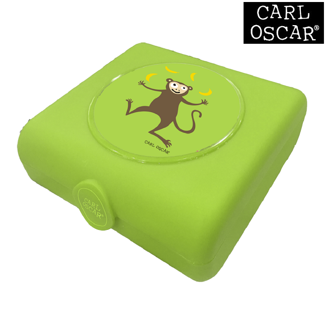 Carl Oscar Sandwich Box - Monkey