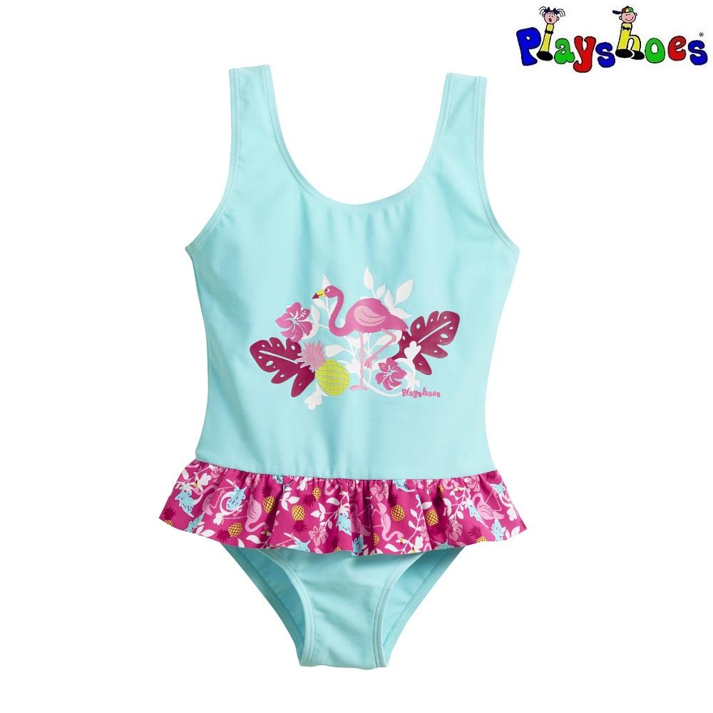 Lasten uimapuku Playshoes Flamingo