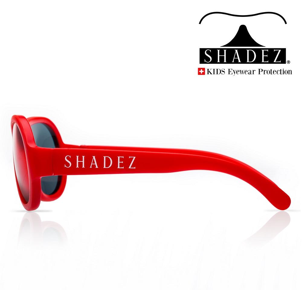 Aurinkolasit lapselle Shadez Junior Classic Punainen