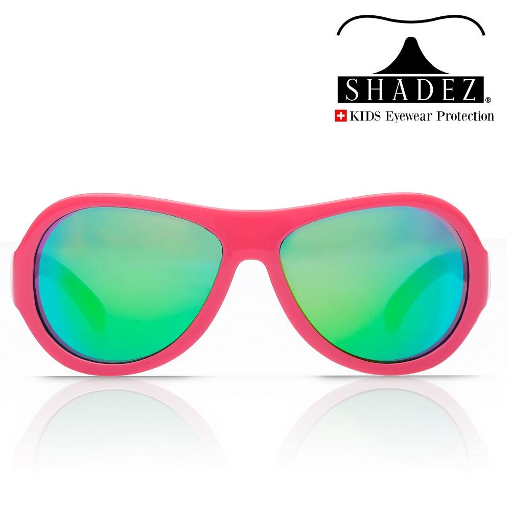 Aurinkolasit lapselle Shadez Junior Print Leaf Pink