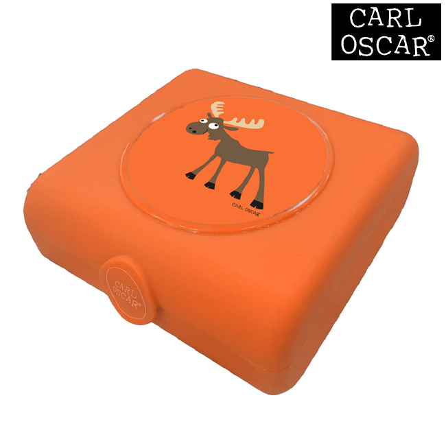 Sandwichbox Carl Oscar Orange Moose
