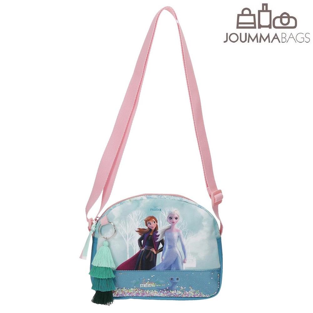 Lasten olkalaukku Frozen Find your Strength Elsa ja Anna