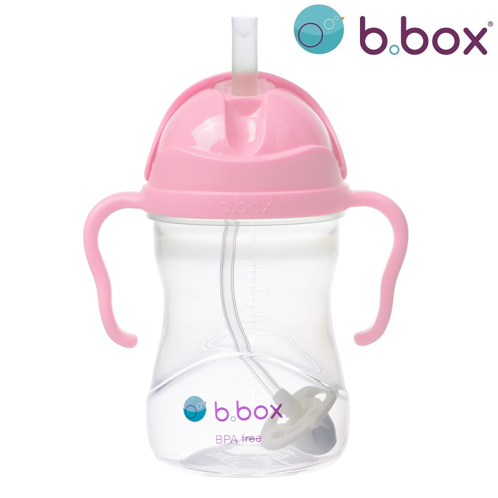 Sugrörsmugg B.box Sippy Cup Cherry Blossom rosa