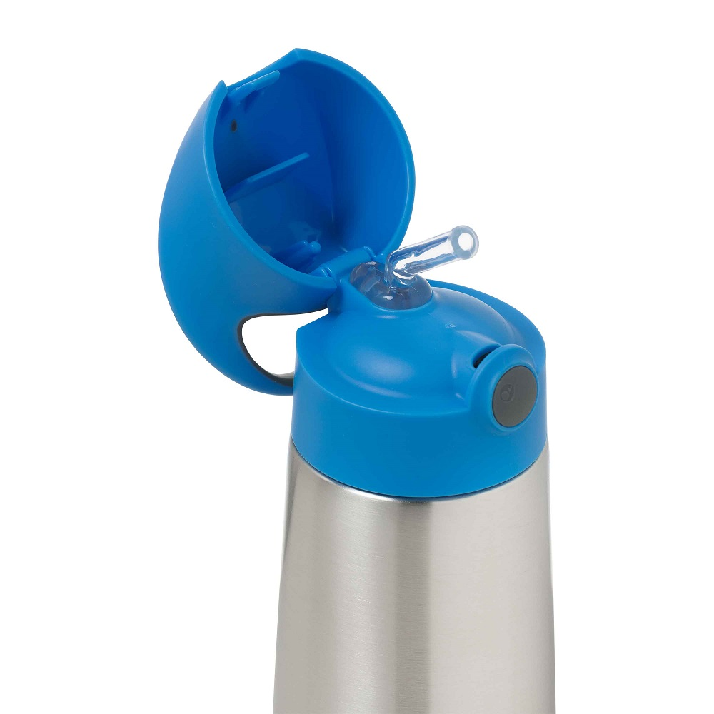 B.box Insulated Drink Bottle - Blue Slate
