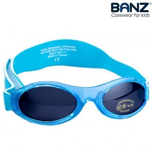 Lasten aurinkolasit BabyBanz Aqua vaaleansininen Tortuois