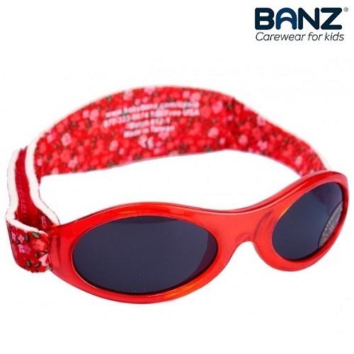 Lasten aurinkolasit BabyBanz Petit Floral punainen