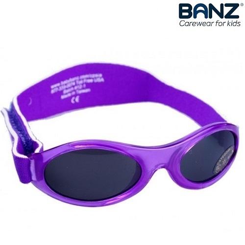 Lasten aurinkolasit BabyBanz Purple lilaa