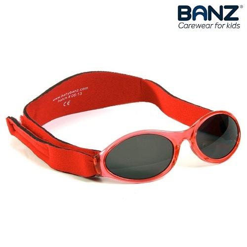 Lasten aurinkolasit BabyBanz punainen