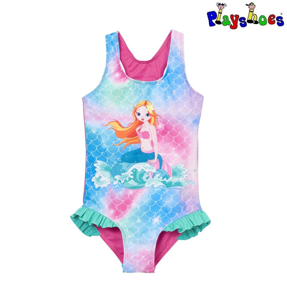 Baddräkt barn Playshoes Mermaid