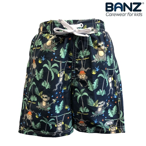 Badshorts barn Banz Navy Jungle