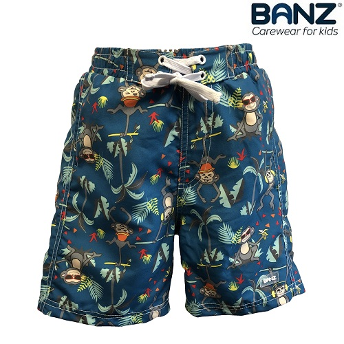 Badshorts barn Banz Petrol Jungle