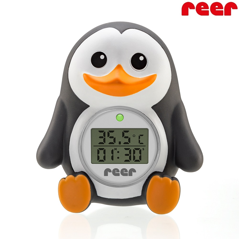Digital Badtermometer Baby Reer My Happy Pingu