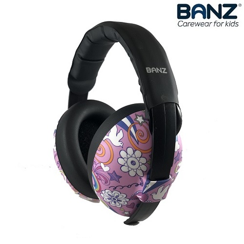 Vauvan kuulonsuojaimet Banz Peace