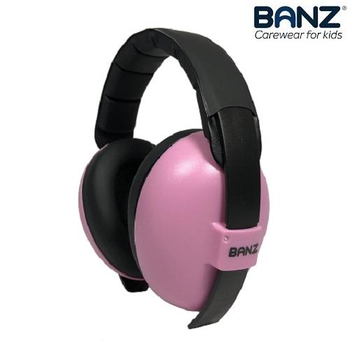 Vauvan kuulonsuojaimet Banz Pink
