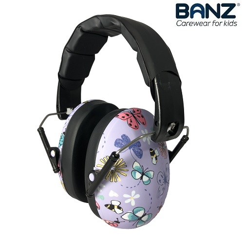 Lasten kuulonsuojaimet Banz Butterfly