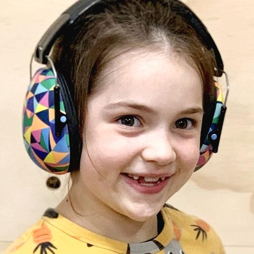 Lasten kuulonsuojaimet Banz Kaleidoscope