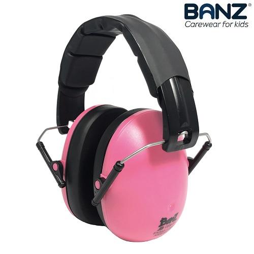 Lasten kuulonsuojaimet Banz Pink