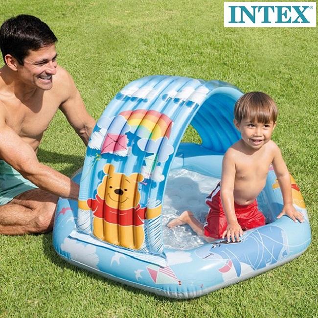 Vauva-allas Nalle Puh Intex puhallettava