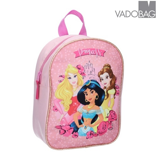 Barnryggsäck Disney Princessor Magic Castle Rosa