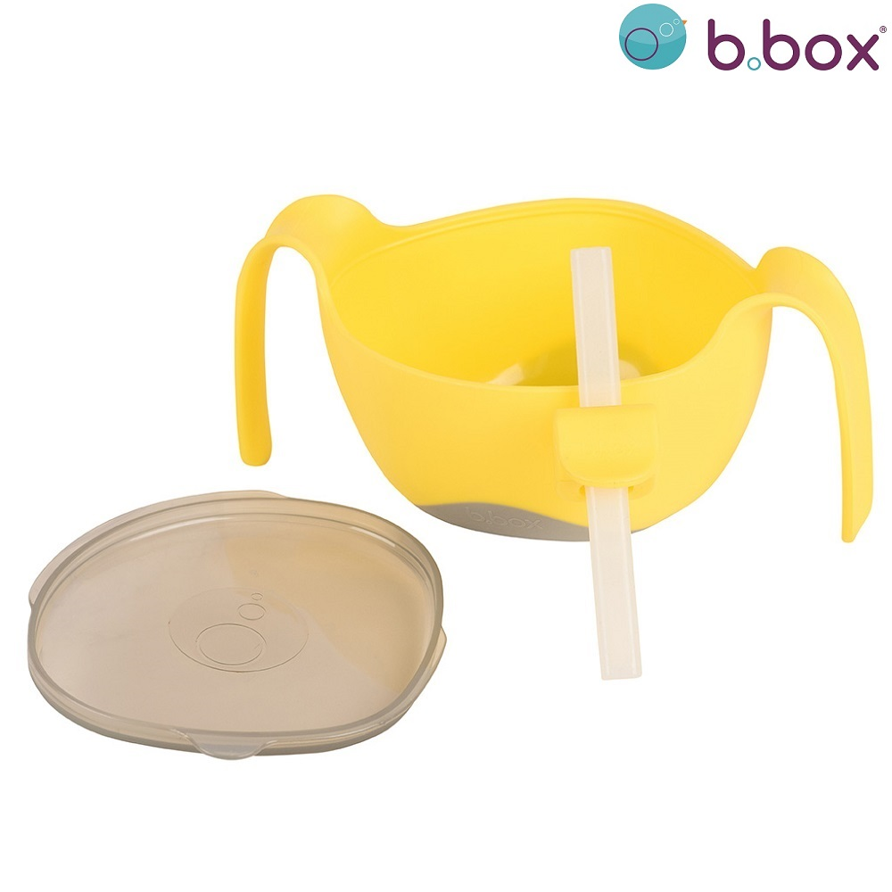 B.box Bowl + Straw XL