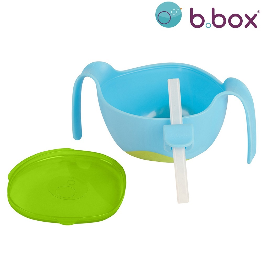 B.box Bowl+Straw XL