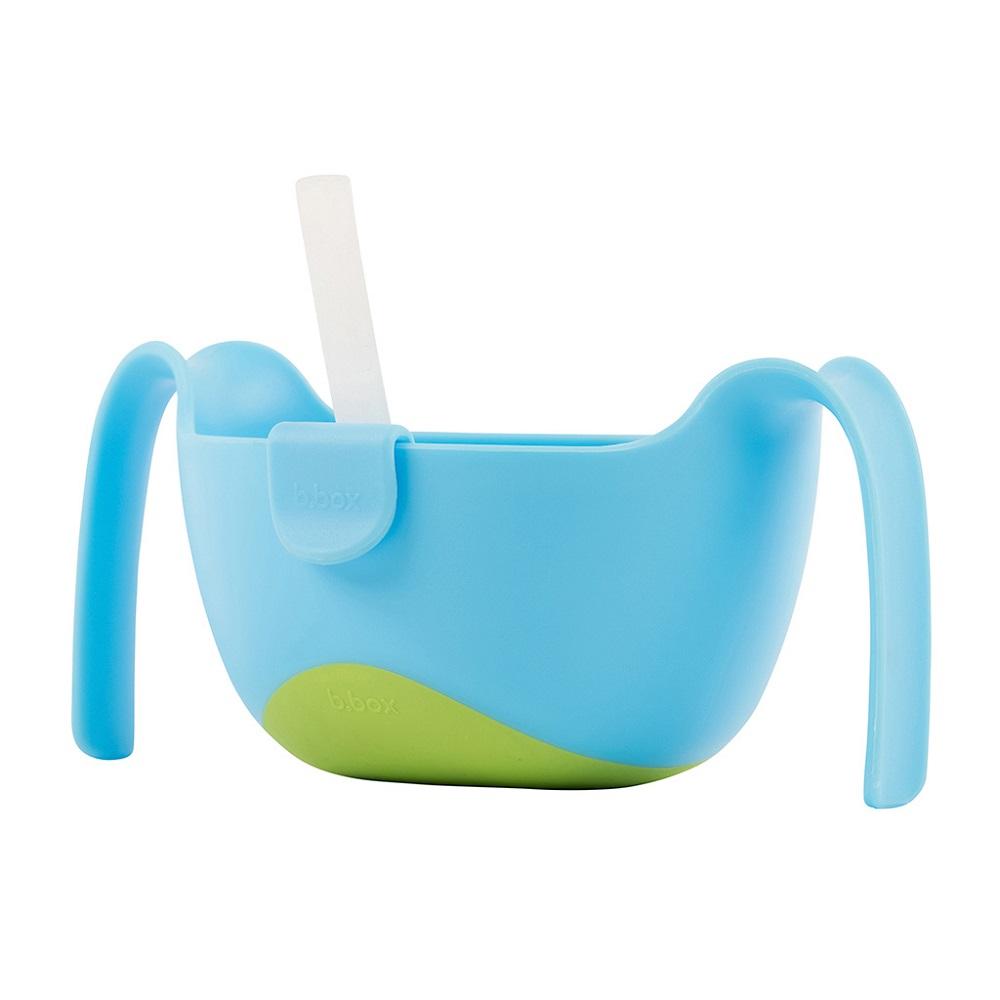 B.box Bowl+Straw XL