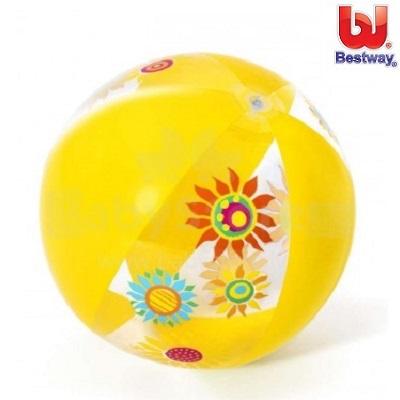 Rantapallo Bestway Keltainen