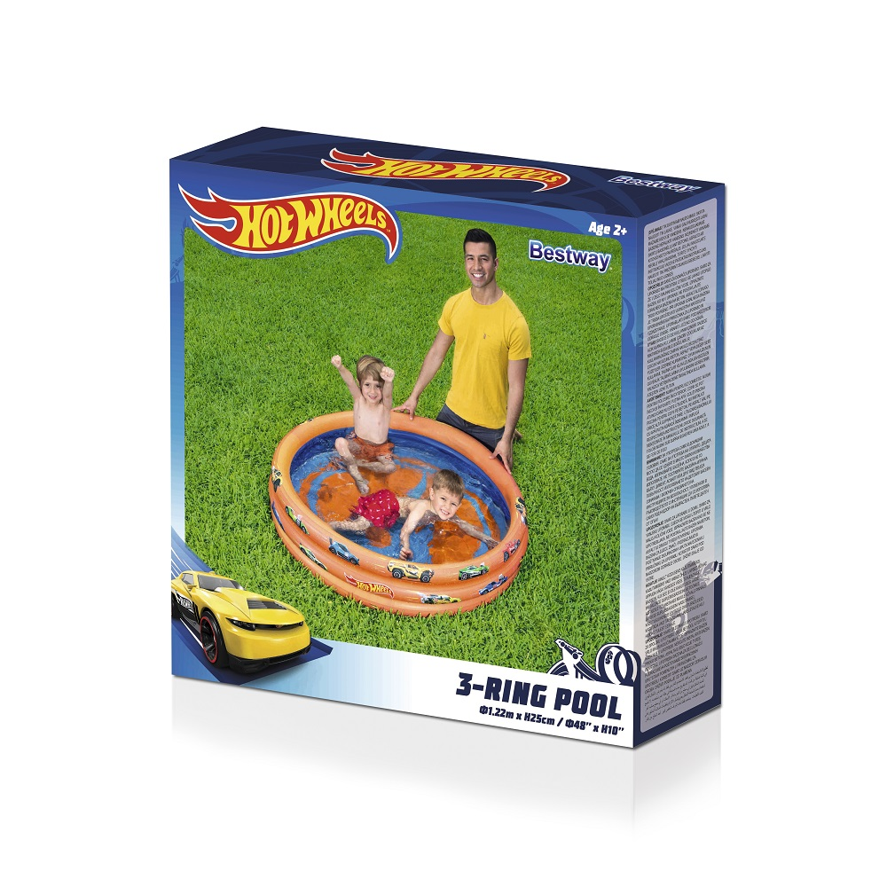 Lasten uima-allas Bestway Hot Wheels