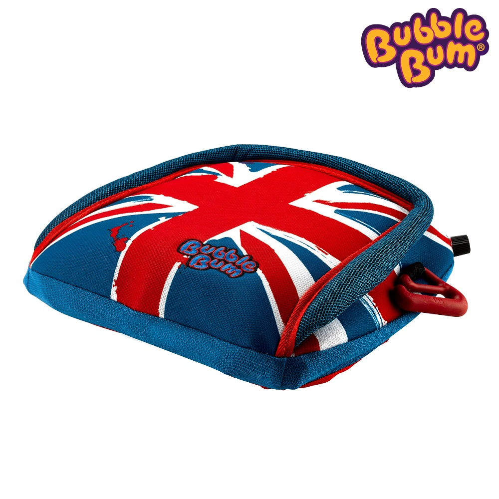 Uppblåsbar bälteskudde Bubblebum Union Jack