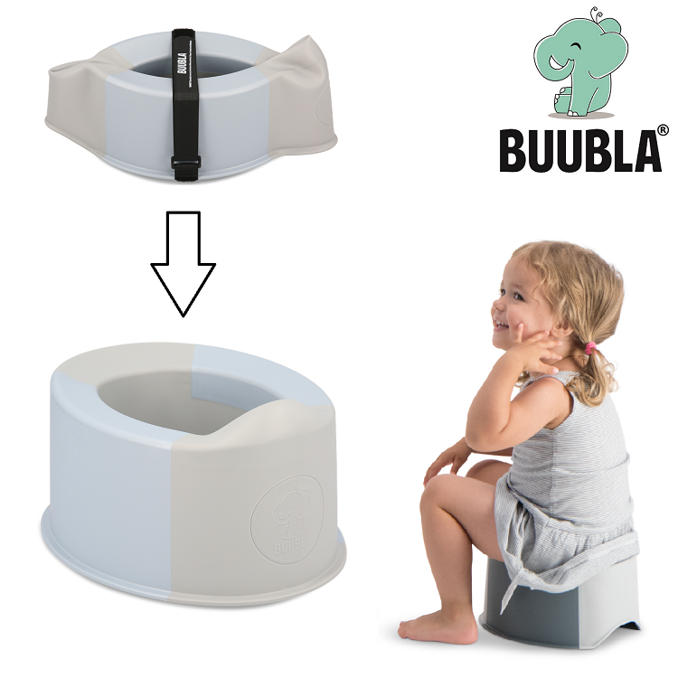 Buubla Potty Chair Matkapotta