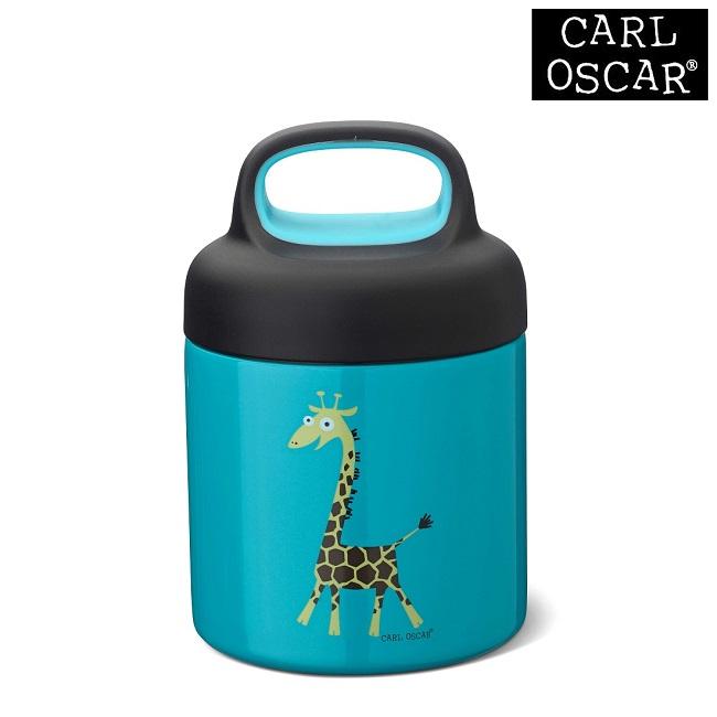 Mattermos barn Carl Oscar Lunchjar Blue Giraffe