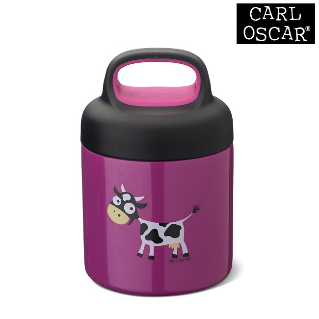 Mattermos barn Carl Oscar Lunchjar Purple Cow