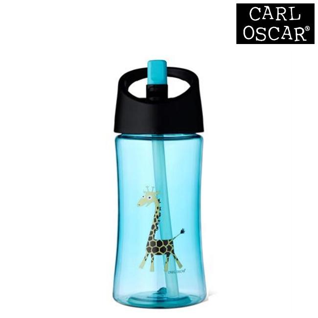 Vattenflaska barn Carl Oscar 350 ml Blue Giraffe