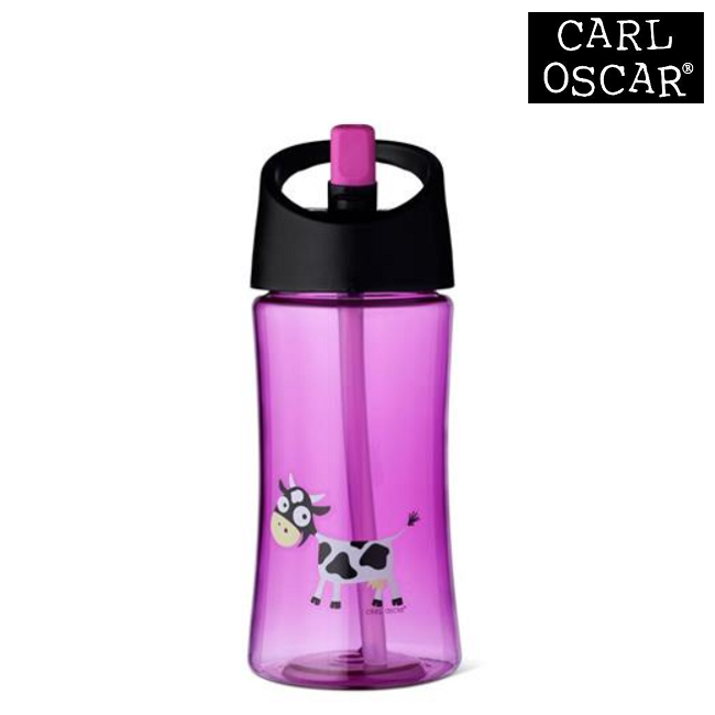 Vattenflaska barn Carl Oscar 350 ml Purple Cow