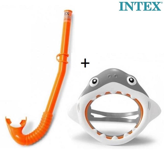 Lasten uimamaski ja snorkkeli Intex Shark