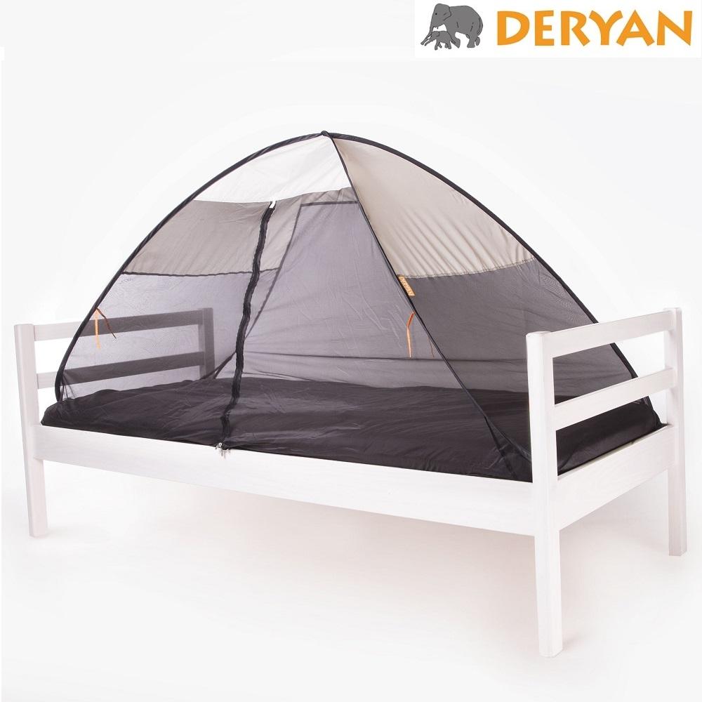 Hyttysverkko ja sänkyteltta Deryan Pop-up Cream