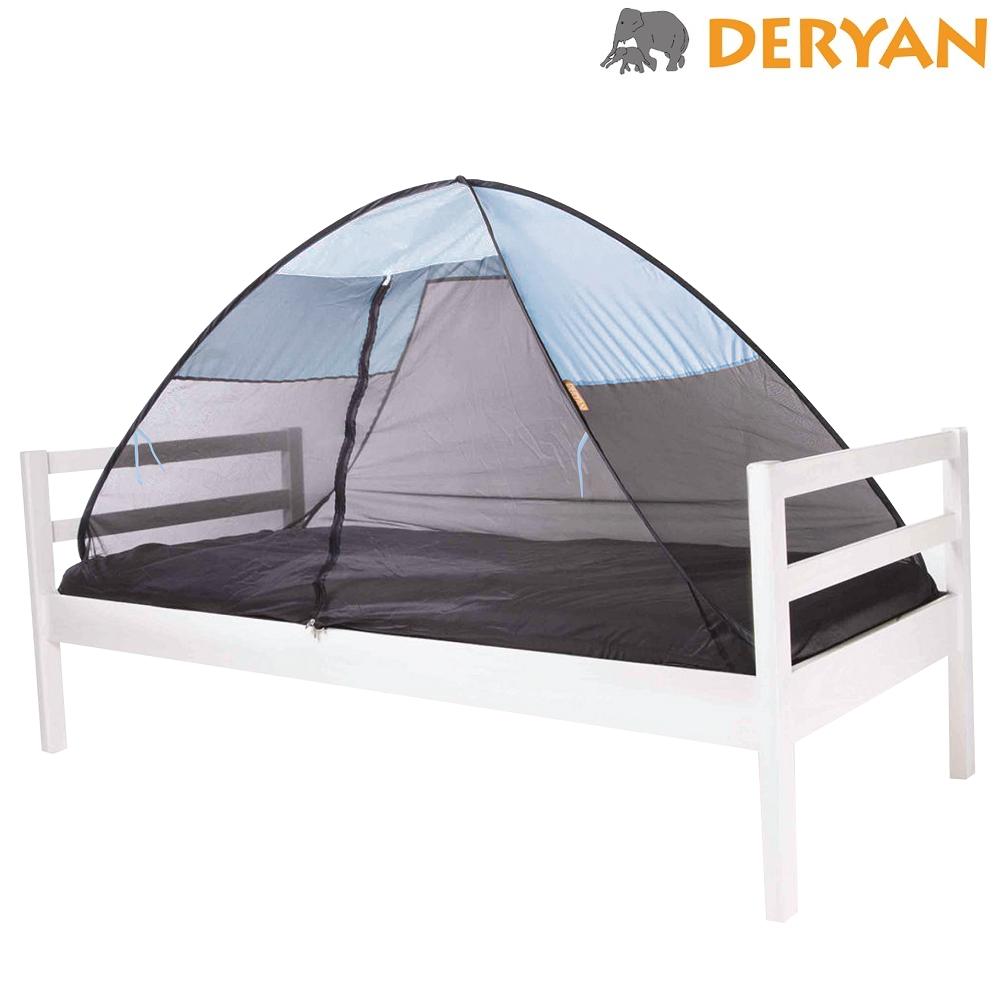 Hyttysverkko ja sänkyteltta Deryan Pop-up Sky Blue