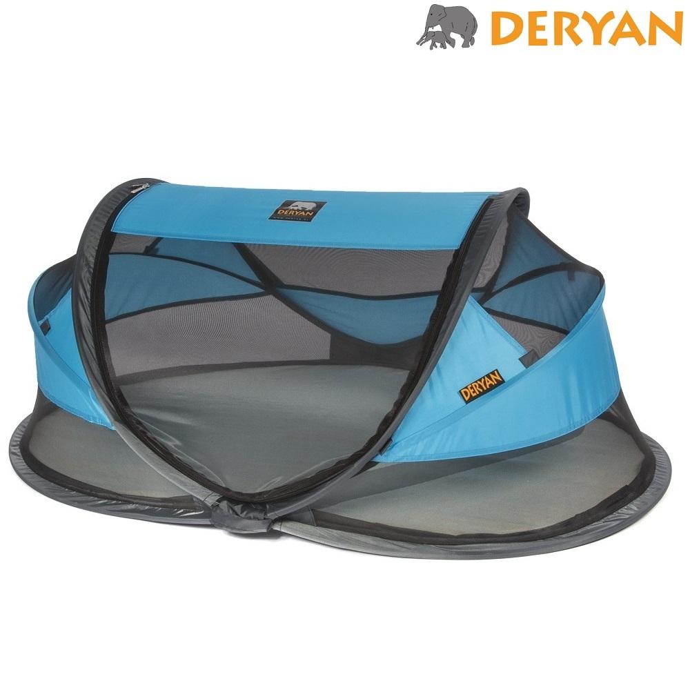 Matkasänky Deryan Baby Luxe Sininen