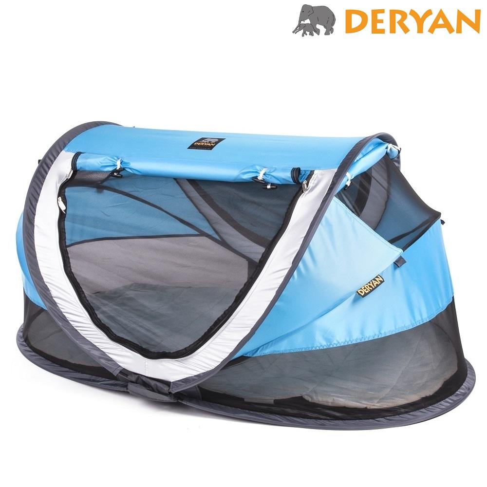 Matkasänky Deryan Toddler Luxe Sininen