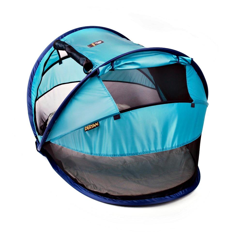 Matkasänky Deryan Toddler Luxe Ocean Sininen