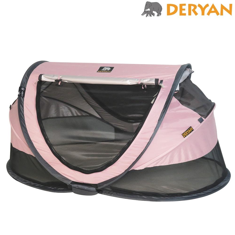 Matkasänky Deryan Toddler Luxe vaaleanpunainen