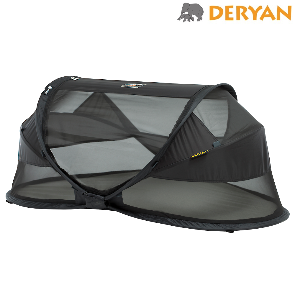 Matkasänky Deryan Baby Luxe musta
