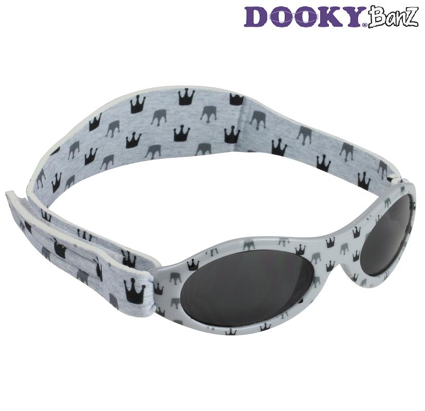 Lasten aurinkolasit DookyBanz Grey crown harmaa