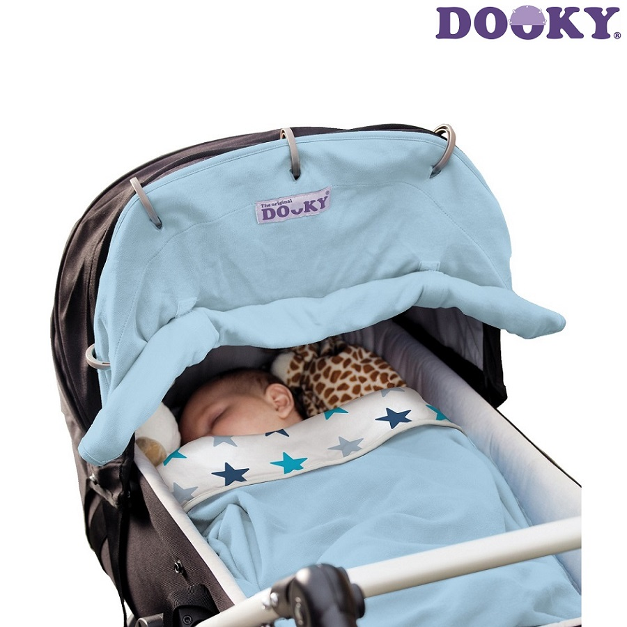 Vaunuverho Dooky Baby Blue sininen