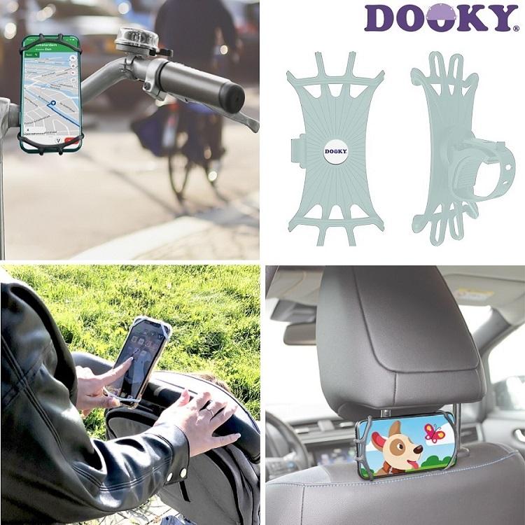 Dooky kännykkäteline rattaisiin ja pyörään Mint