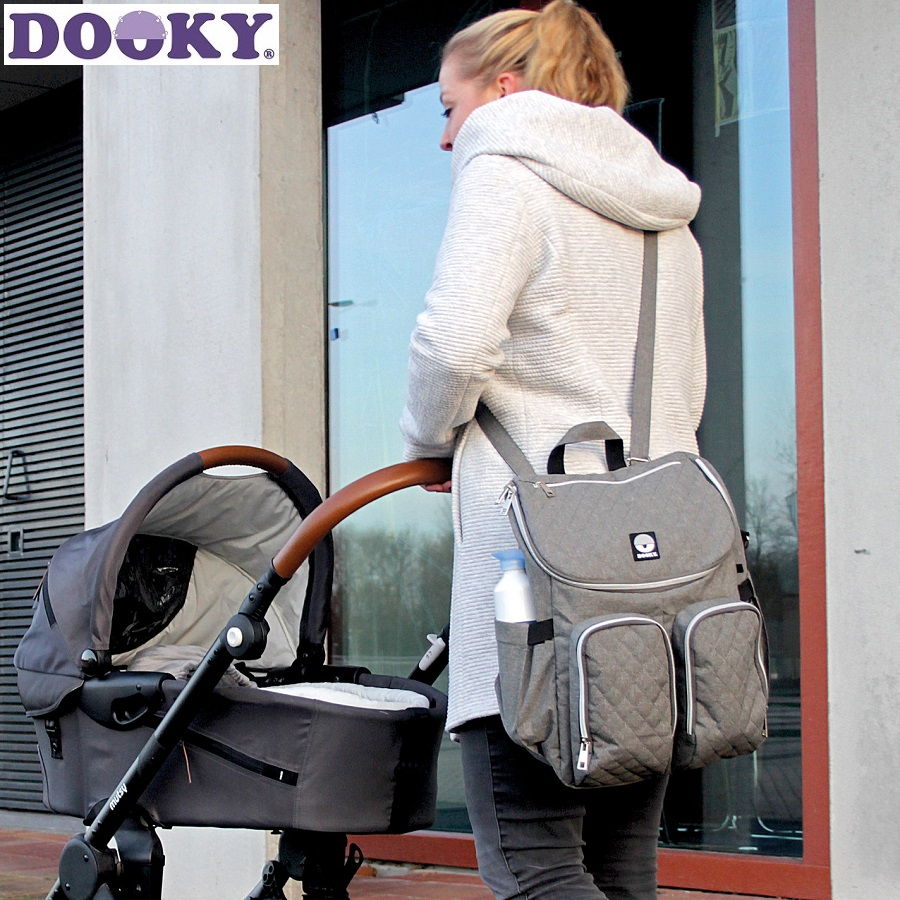 Dooky Hoitoreppu Diaper Backpack 2:1