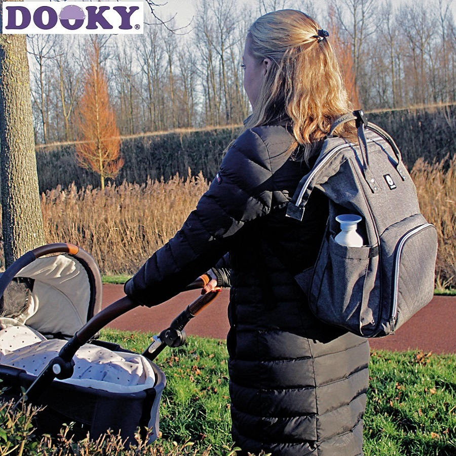 Dooky Hoitoreppu Diaper Backbag Large