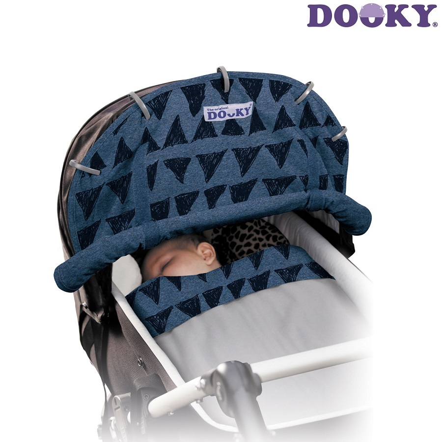 Dooky vaununsuojus Blue Tribal